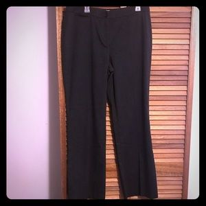 Pinstripe Charcoal Slacks